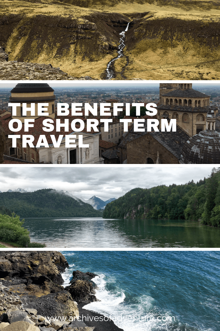 If you're on the fence about quitting your job to travel, just hold onto that two-weeks notice! Here are the benefits of short term travel! #TravelTips #ShortTermTravel #LongTermTravel #SoloTravel #TravelAdvice