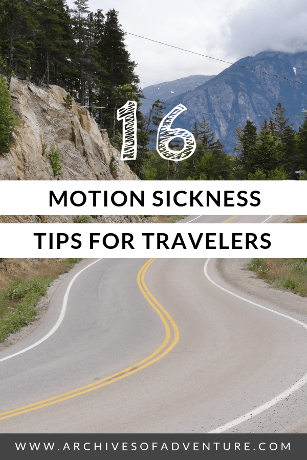 If you're a traveler who deals with motion sickness on planes and everywhere else, here are all my best motion sickness tips for travelers! #TravelHealth #TravelTips #FlyingHacks #TravelSickness #RoadTrips
