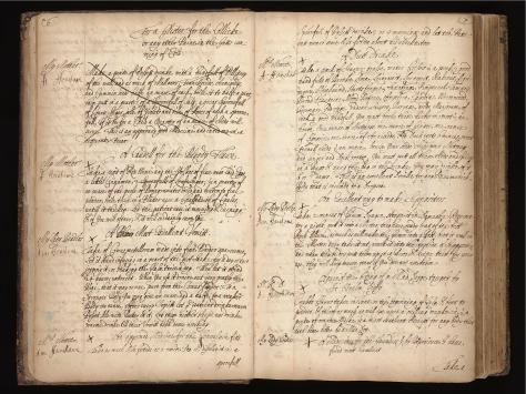 Recipe book kept by Ann Fanshawe (ca.1600), which lists treatments for various conditions. Image credit: Wellcome Library, London, Lady Ann Fanshawe, Recipe Book, MS 7113.
