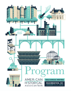 Program Cover, American Historical Association, 132nd Annual Meeting