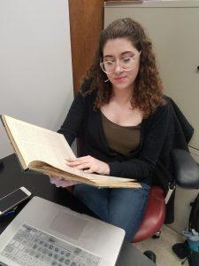Nina Rodwin, UMass Boston Public History Student