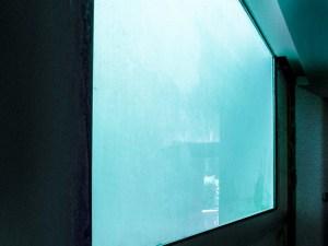 vetro per piscina