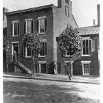 The Frissell House on 14th Street (built in 1835), one of the oldest structures in Wheeling. (Landmarks of Old Wheeling by Milton)