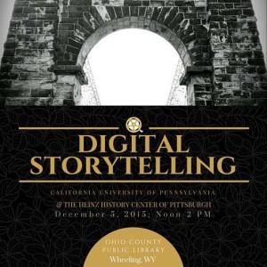 Digital Storytelling event.