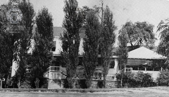 The Club House at Cedar Rocks. OCPL Archives