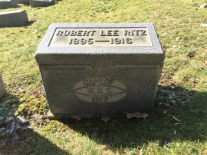 Robert Lee's tombstone at Greenwood.