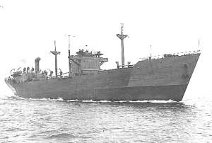 Arisan Maru. Public domain image.