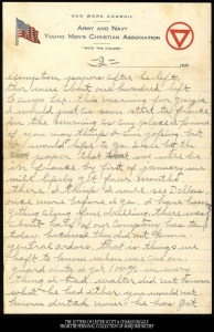 October 21, 1917: From Camp Lee to the Great War: The Letters of Lester Scott and Charles Riggle - From the personal collection of Marjorie Richey