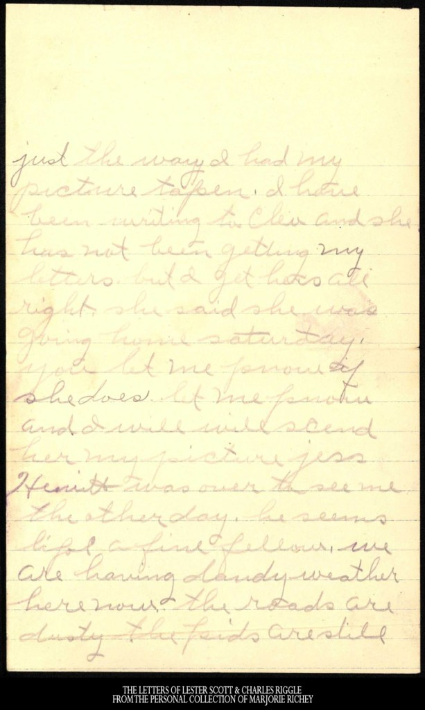 November 16, 1917: From Camp Lee to the Great War: The Letters of Lester Scott and Charles Riggle - From the personal collection of Marjorie Richey