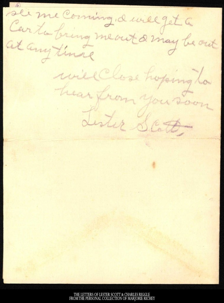 January 9, 1918: From Camp Lee to the Great War: The Letters of Lester Scott and Charles Riggle - From the personal collection of Marjorie Richey