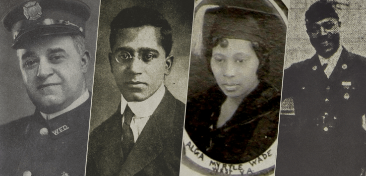 More more about five of Wheeling's early African American Community Leaders on Archiving Wheeling dot org