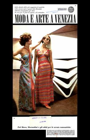 1968 ANNABELLA Moda e Arte a Venezia