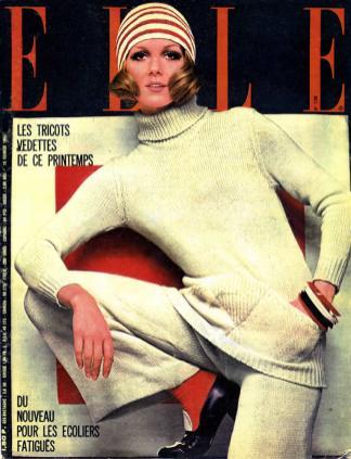 1968 ELLE Prima copertina Missoni