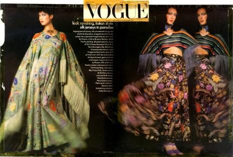 Vogue USA - Aprile '70 Ph: Barry Lategan