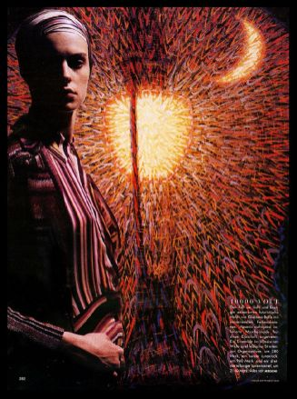 2000 VOGUE GERMANIA 1000 volt, luce e energia in un'esplosione di colori sensazionali