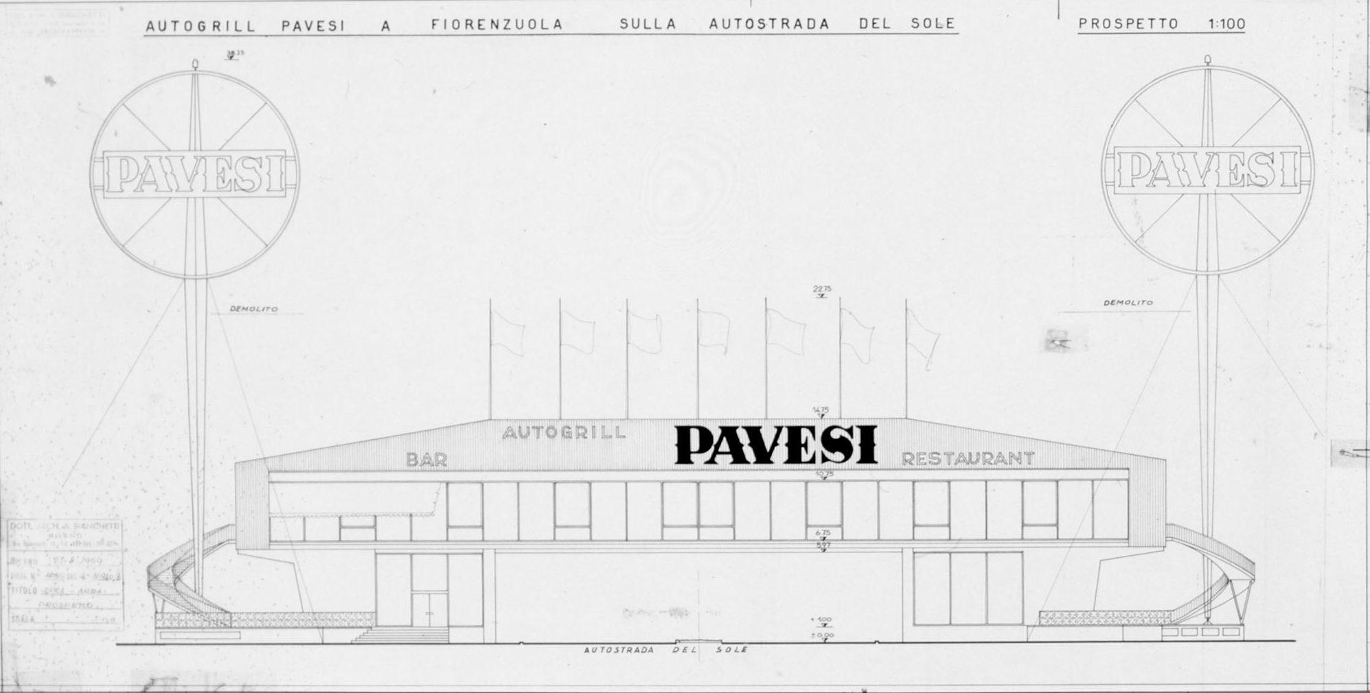 L Architettura Degli Autogrill Pavesi