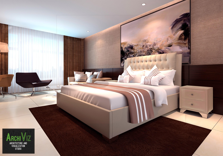 Дизайн спальни Каролина