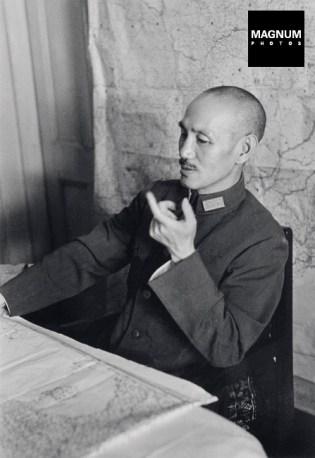 Chiang Kai-shek, máximo general durante la guerra