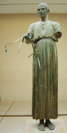 Auriga de Delfos (estilo Severo)