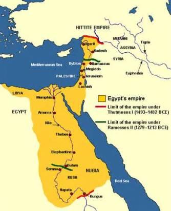 Egipto durante el Imperio Nuevo