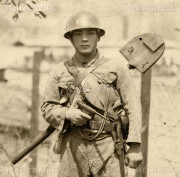 soldado japones naval pistola nambu