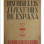 Discurso a las juventudes de España