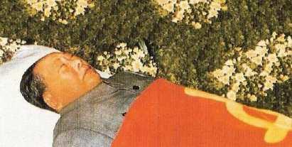 Mao embalsamado