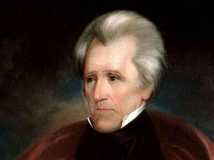 El presidente estadounidense Andrew Jackson (1767-1845)