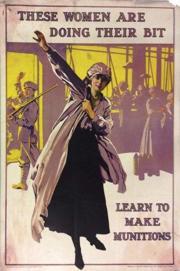 Cartelería propagandística Primera Guerra Mundial