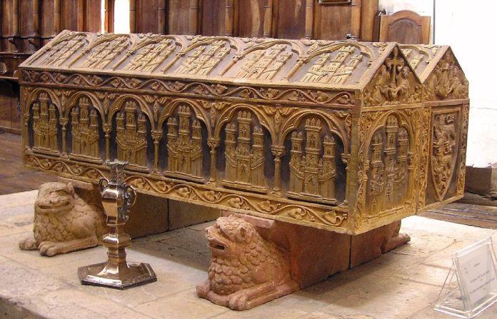 Sepulcro de Alfonso VIII y Leonor de Plantagenet