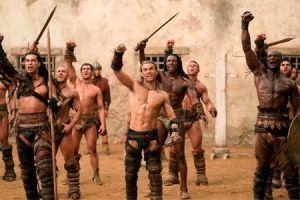 Gladiadores en el ludus