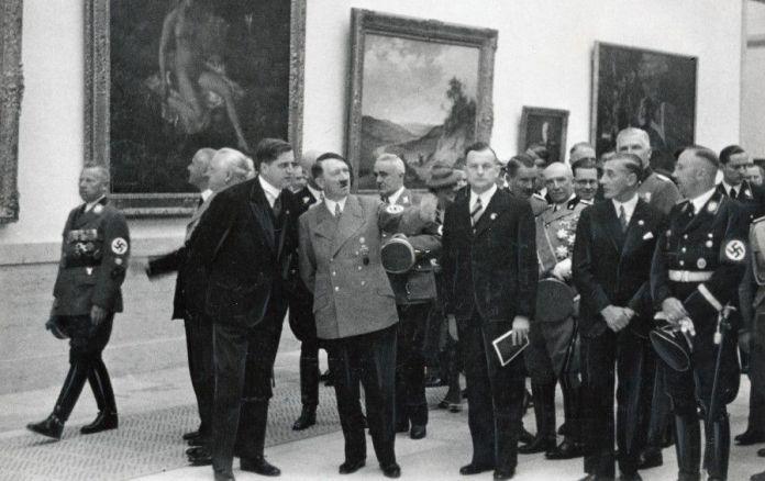 """Imagen exposición """"Arte degenerado"""""""