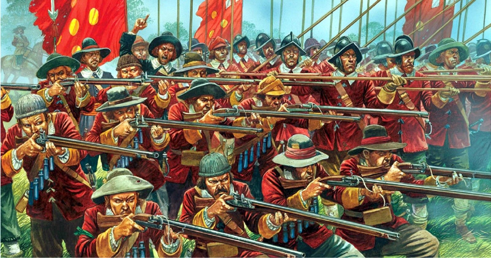 """""""New Model Army"""" Warlord Games."""