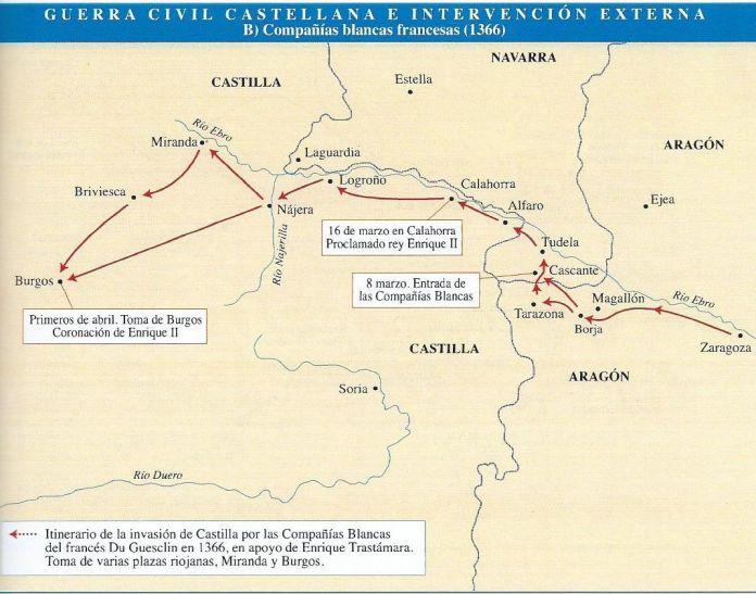 Pedro I y Enrique II: Guerra civil en la Castilla del siglo XIV