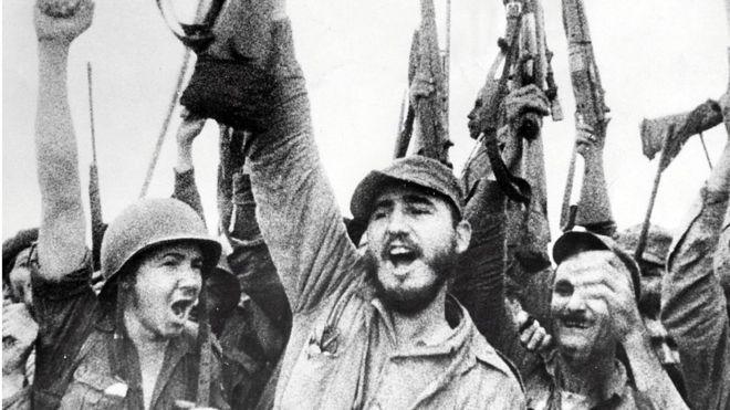 Castro Revolución Cubana