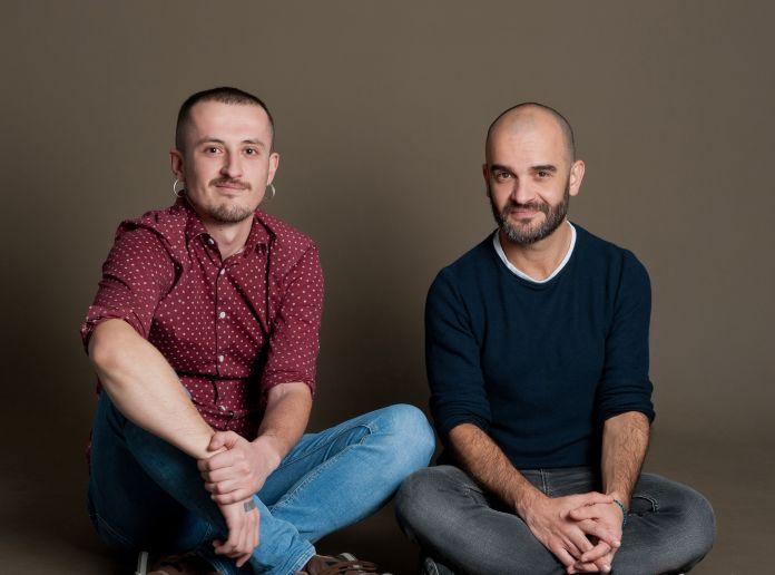 Javier Alegre y su compañero