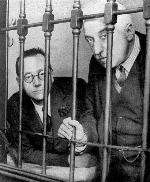 Niceto Alcalá-Zamora en la cárcel Modelo