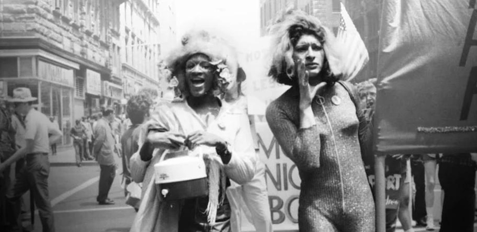Marsha P. Johnson y Sylvia Rivera en Stonewall