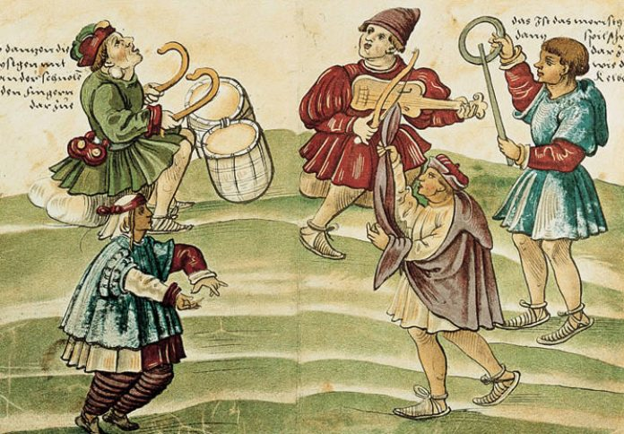 Danza Morisca de Christoph Weiditz