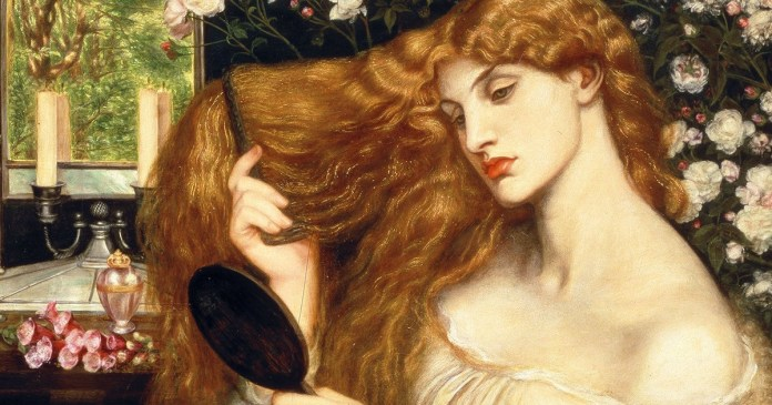 Lady Lilith. (1866). Dante Gabriel Rossetti, Delawere Art Museum.