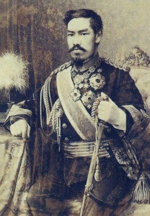 Retrato del Emperador Mutsuhito (1888). Desconocido | Wikimedia