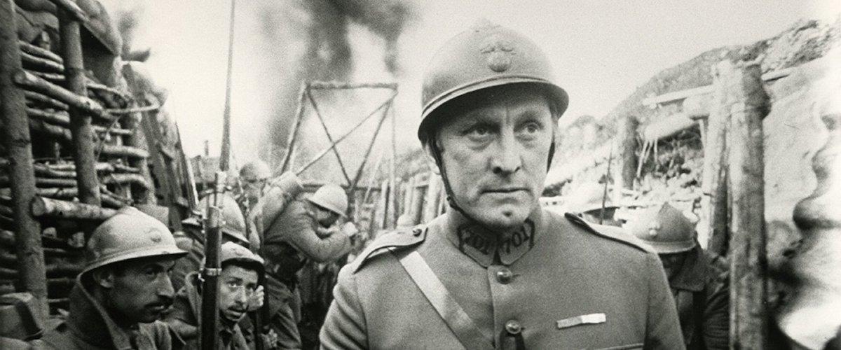Cine de la primera guerra mundial. Fotograma de Senderos de Gloria.