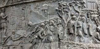 Legionarios en la Columna de Trajano