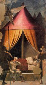 El sueño de Constantino, Piero della Francesca.