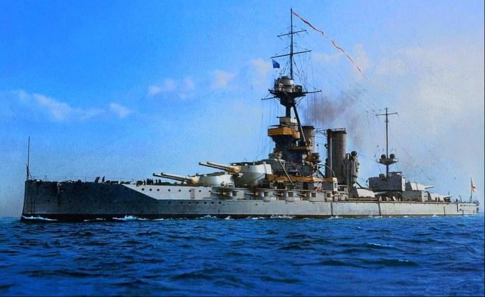 buque insignia Jellicoe