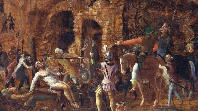 El destino de Craso (Lancelot Blondel, s XVI). Museo Groeninge. Licinio entró en contacto con la Ruta de la Seda