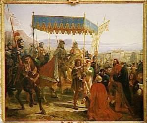 Entrada de Carlos VIII en Nápoles en 1495