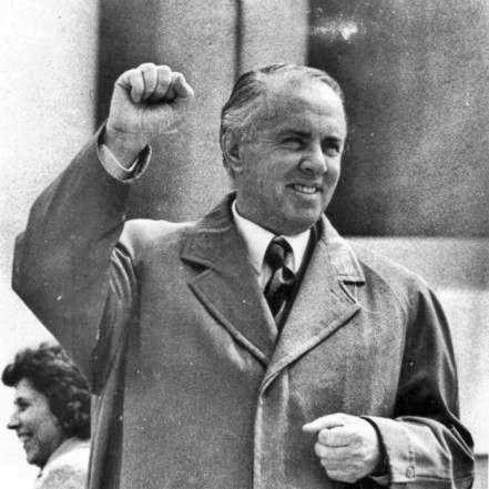 Enver Hoxha en 1971
