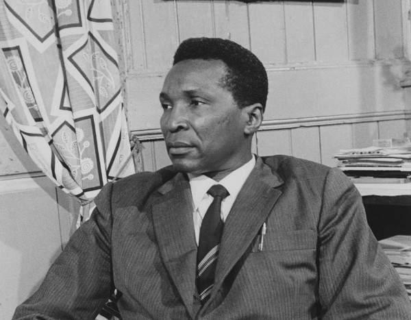 Francisco Nguema durante su presidencia.