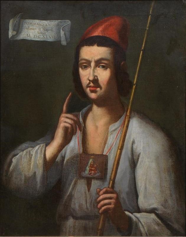 Retrato de Masaniello (Anónimo, siglo XVII), Colección Privada
